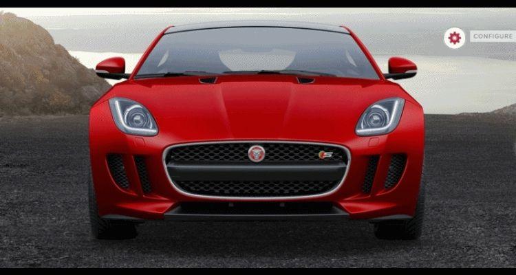 2015 Jaguar F-TYPE S Coupe Builder GIF 1