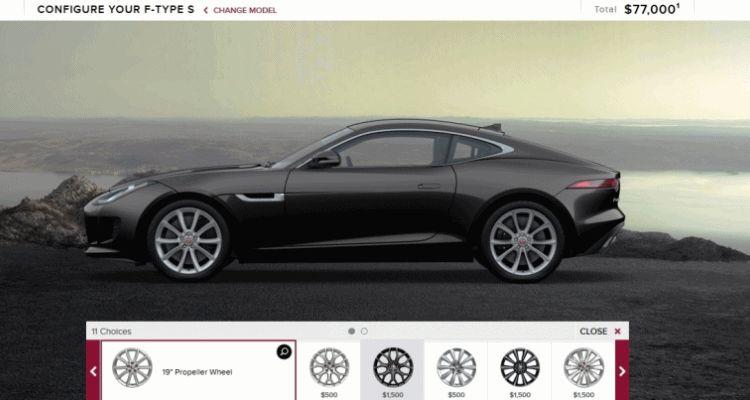 2015 Jaguar F-TYPE S Coupe Builder GIF wheels