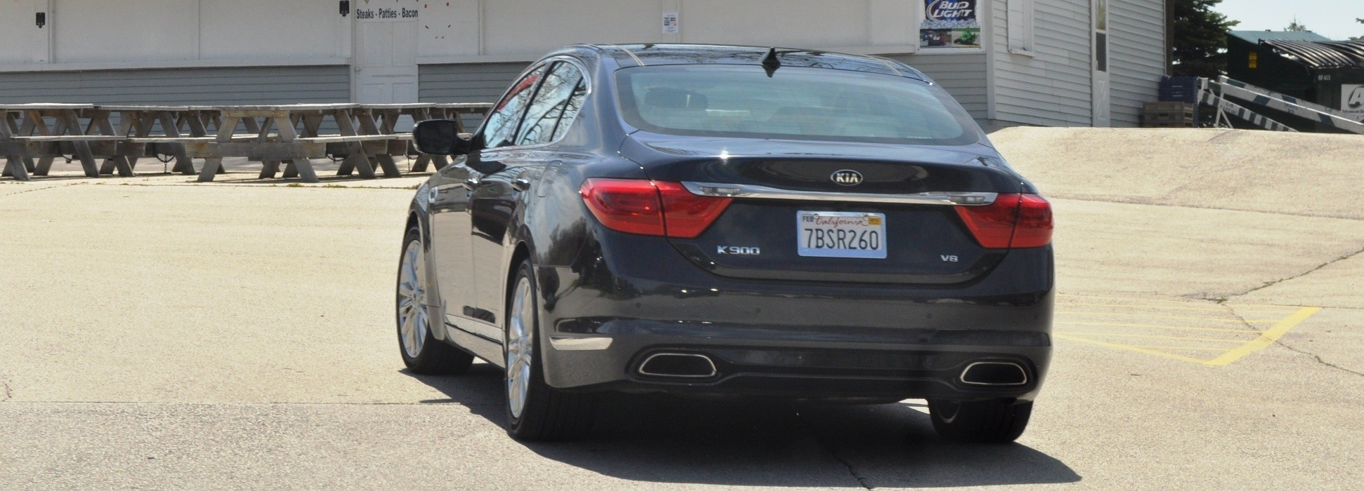 2015 Kia K900 LED Lighting Low, High and Brake Light Photos 2