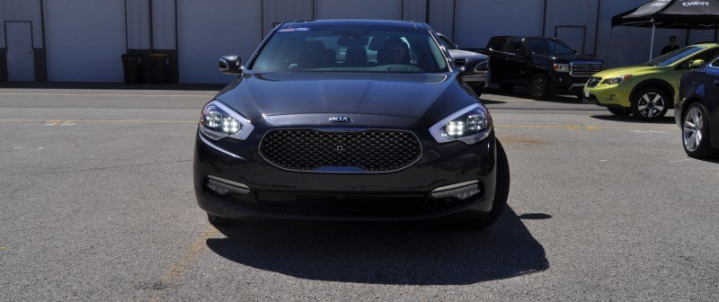 2015 Kia K900 LED Lighting Low, High and Brake Light Photos 20