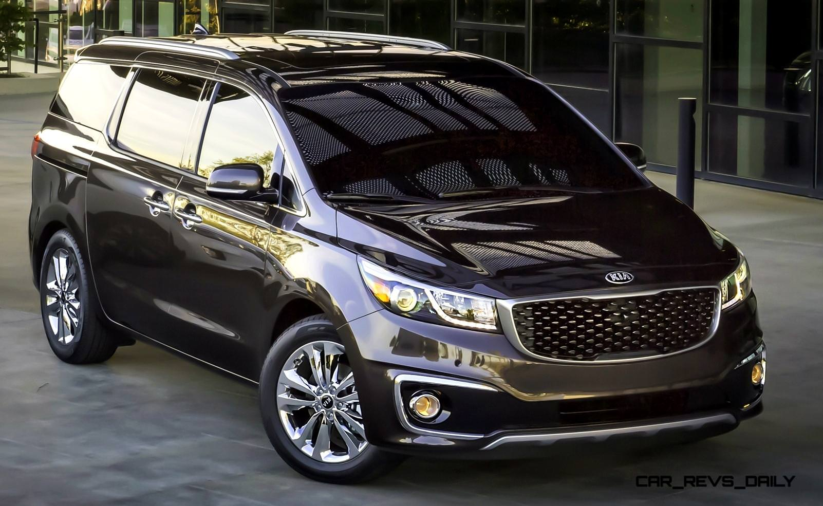 2015 kia sedona becomes seriously competitive with lux. Black Bedroom Furniture Sets. Home Design Ideas