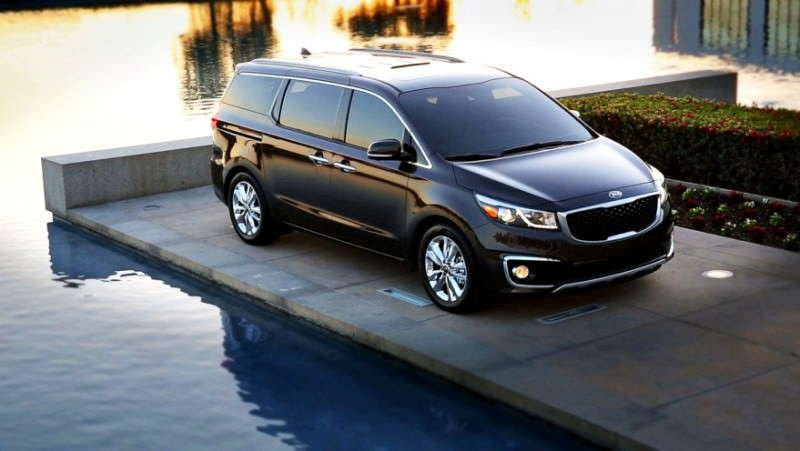 2015 Kia Sedona Becomes Seriously Competitive With Lux Style, Tech and Cabin Space 34
