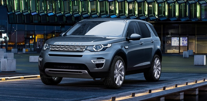 2015 Land Rover Discovery Sport 21
