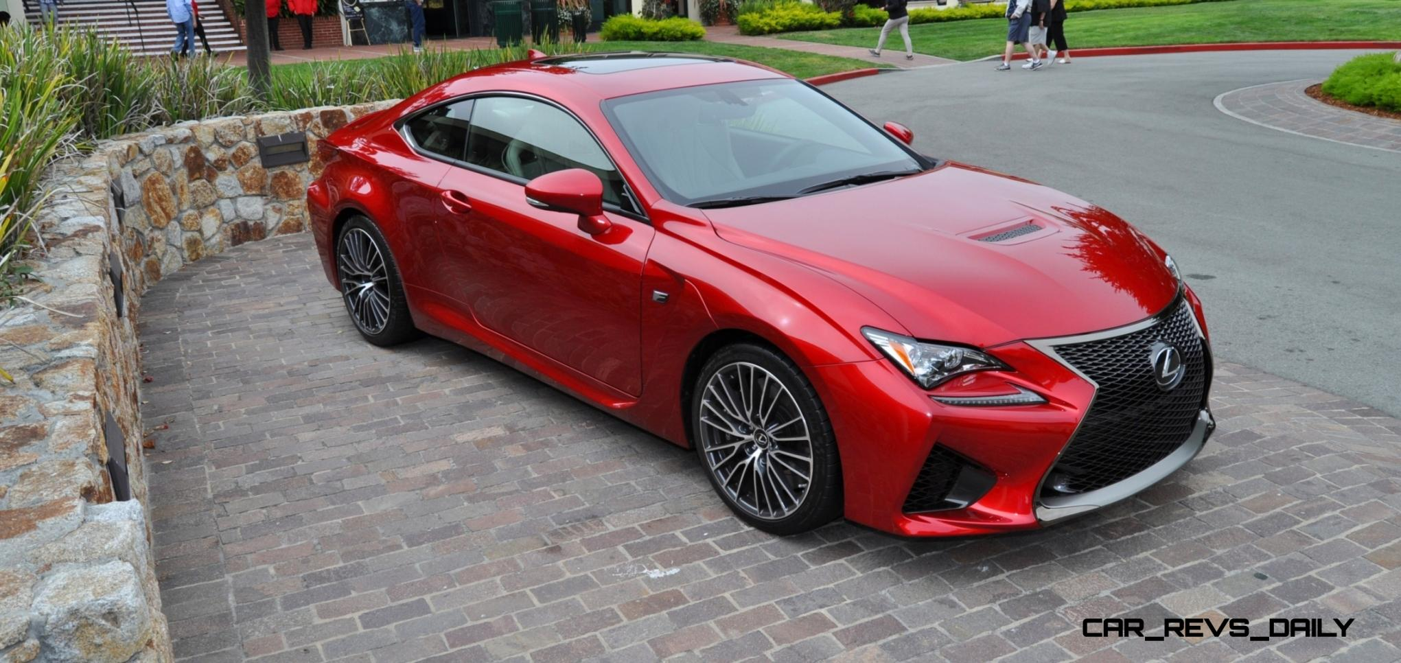 2015 lexus rc f ultra sexy in red flawless animations 122 photos. Black Bedroom Furniture Sets. Home Design Ideas