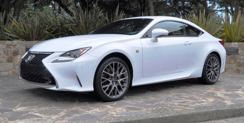 2015 Lexus RC350 F Sport EXCLUSIVE 8-Speed Auto, AWD, 4WS and Adaptive Suspension! 12