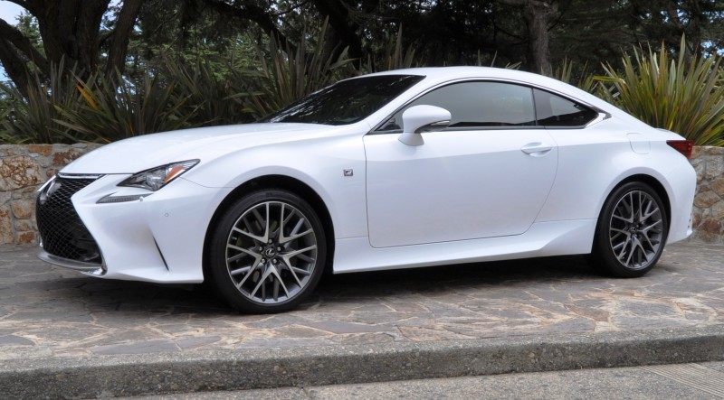 2015 Lexus RC350 F Sport EXCLUSIVE 8-Speed Auto, AWD, 4WS and Adaptive Suspension! 13