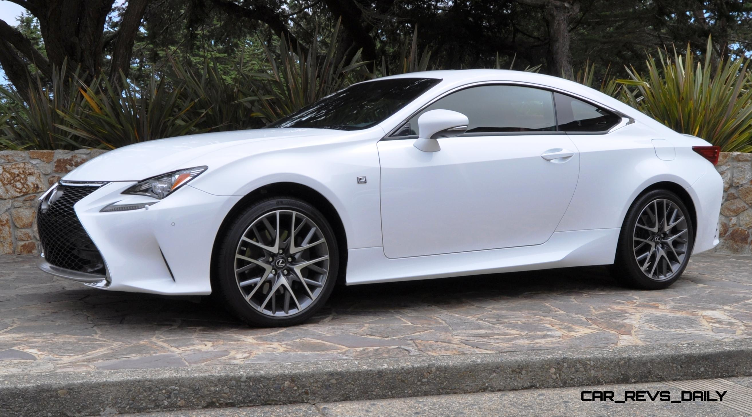 2015 Lexus RC350 F Sport EXCLUSIVE 8 Speed Auto, AWD, 4WS And Adaptive  Suspension! 13
