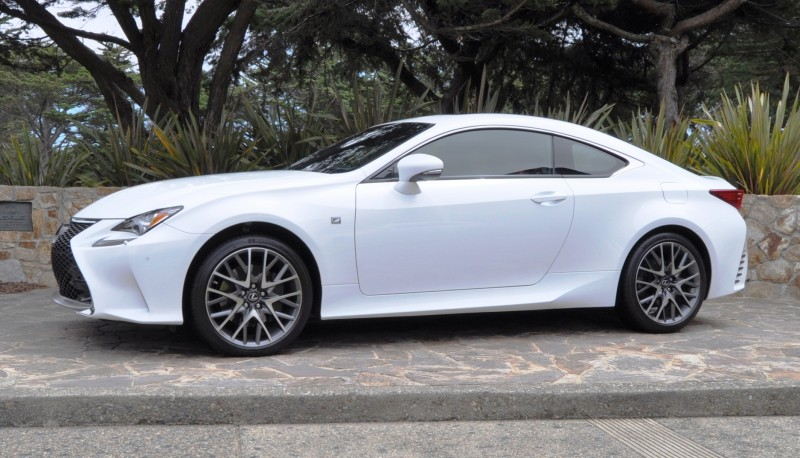 2015 Lexus RC350 F Sport EXCLUSIVE 8-Speed Auto, AWD, 4WS and Adaptive Suspension! 14