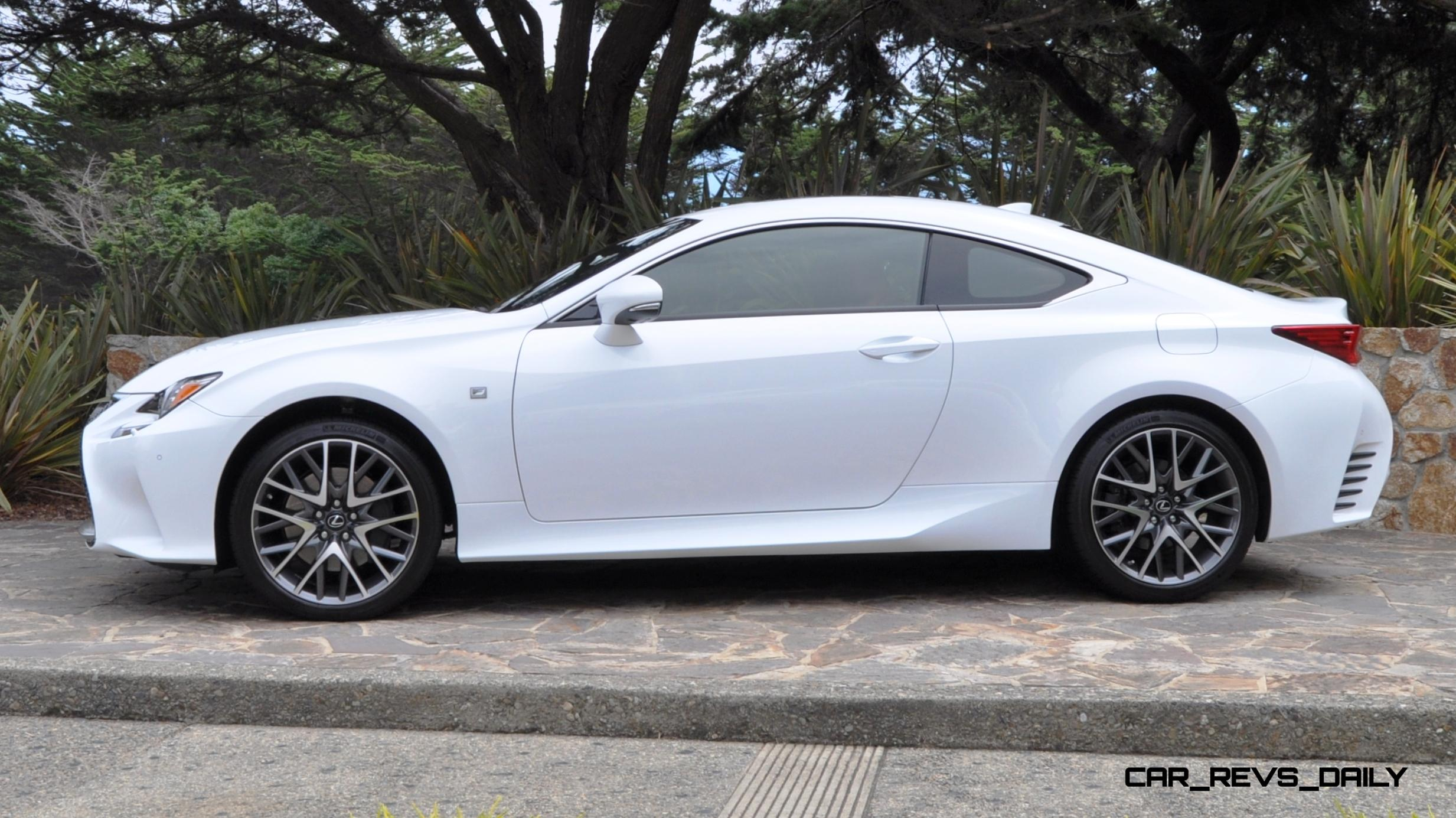 2015 lexus rc350 f sport exclusive 8 speed auto awd 4ws and adaptive suspension. Black Bedroom Furniture Sets. Home Design Ideas