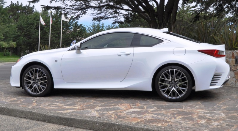 2015 Lexus RC350 F Sport EXCLUSIVE 8-Speed Auto, AWD, 4WS and Adaptive Suspension! 18