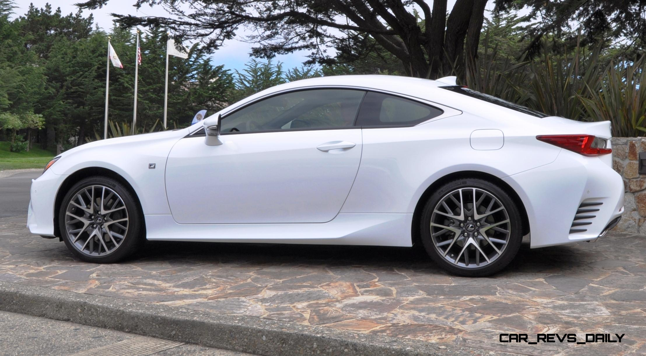2015 Lexus RC350 F Sport EXCLUSIVE 8 Speed Auto, AWD, 4WS And Adaptive  Suspension! 18
