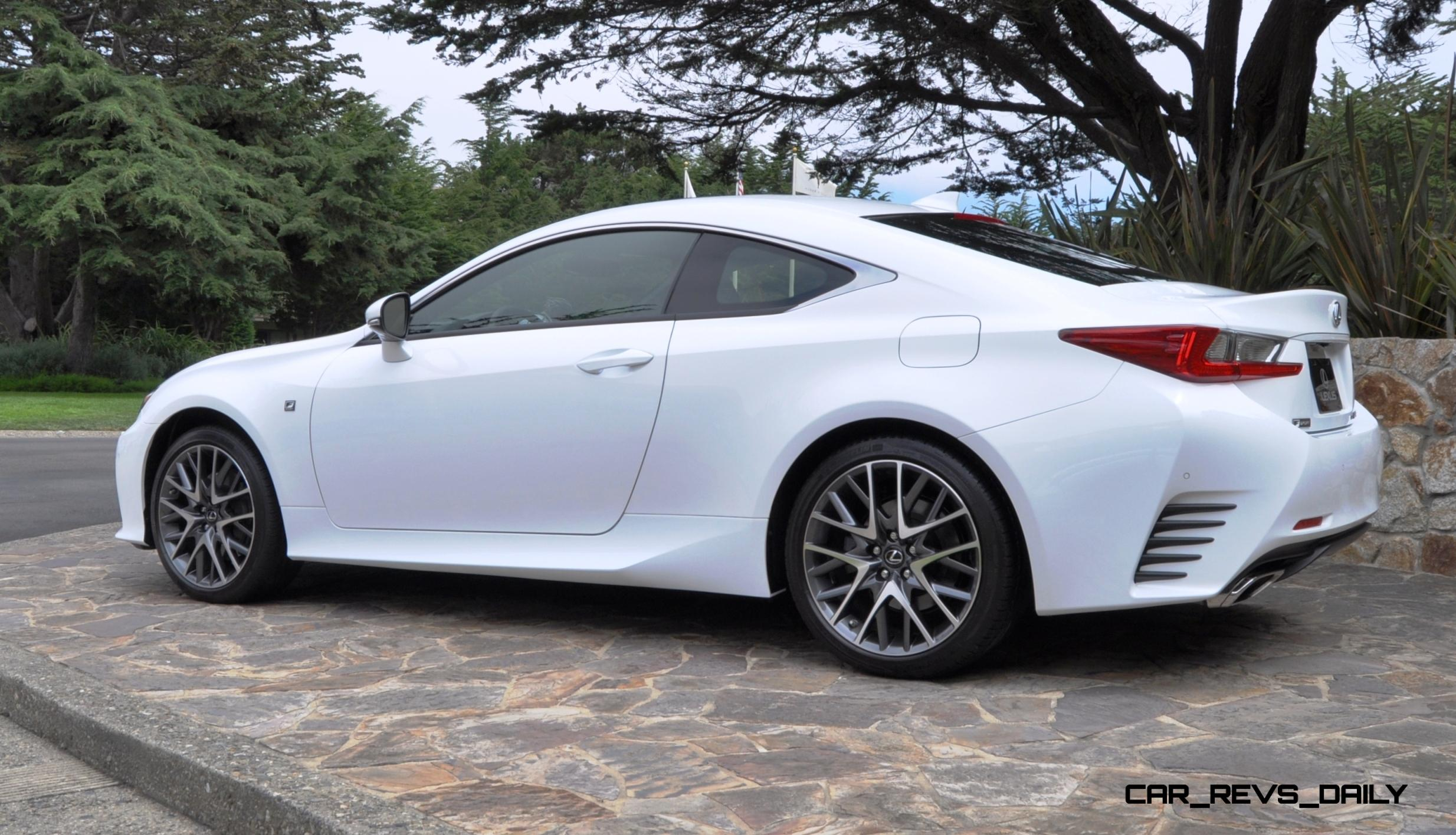 2015 Lexus RC350 F Sport EXCLUSIVE 8 Speed Auto, AWD, 4WS And Adaptive  Suspension! 19