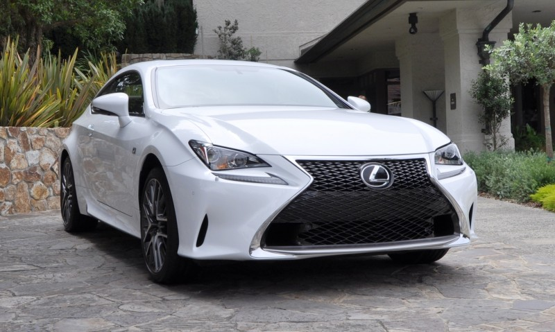 2015 Lexus RC350 F Sport EXCLUSIVE 8-Speed Auto, AWD, 4WS and Adaptive Suspension! 2