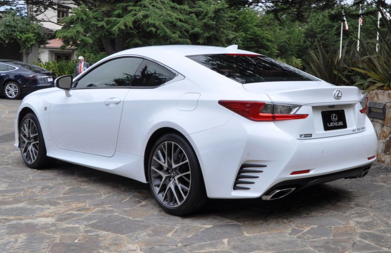 2015 Lexus RC350 F Sport EXCLUSIVE 8-Speed Auto, AWD, 4WS and Adaptive Suspension! 21