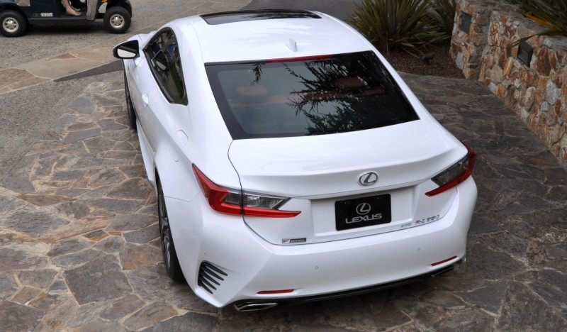 2015 Lexus RC350 F Sport EXCLUSIVE 8-Speed Auto, AWD, 4WS and Adaptive Suspension! 24