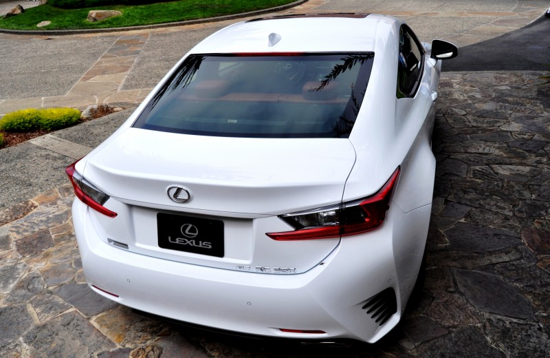 2015 Lexus RC350 F Sport EXCLUSIVE 8-Speed Auto, AWD, 4WS and Adaptive Suspension! 27