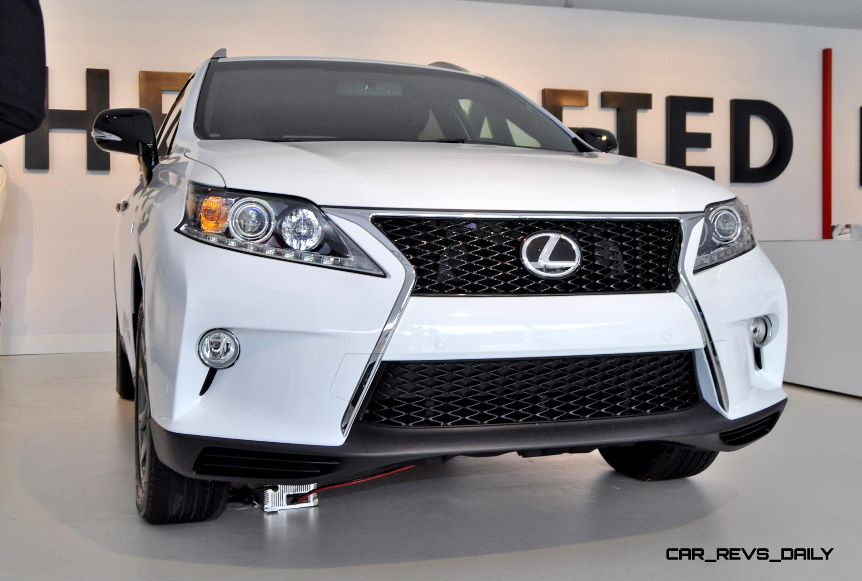 2015 Lexus RX350 CRAFTED LINE Pebble Beach Debut In Detail