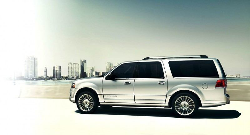 2015 Lincoln Navigator Power Confirmed at 380HP and 460 Lb Ft. - Pricing From $63k Undercuts Escalade by $10k 43