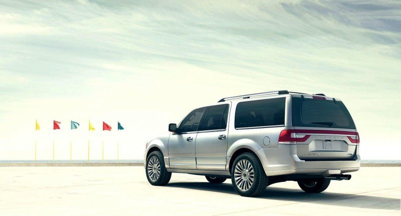 2015 Lincoln Navigator Power Confirmed at 380HP and 460 Lb Ft. - Pricing From $63k Undercuts Escalade by $10k 50