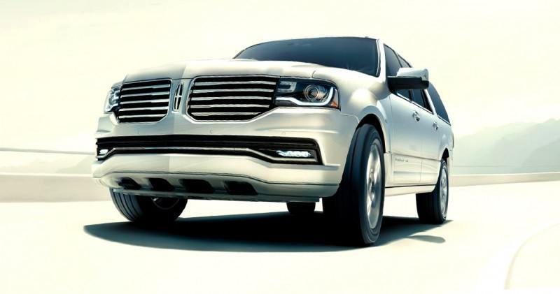 2015 Lincoln Navigator Power Confirmed at 380HP and 460 Lb Ft. - Pricing From $63k Undercuts Escalade by $10k 51