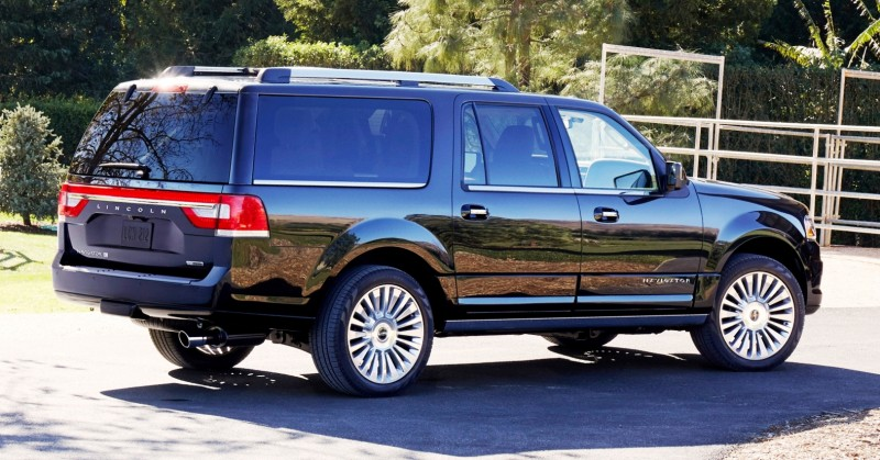 2015 Lincoln Navigator Power Confirmed at 380HP and 460 Lb Ft. - Pricing From $63k Undercuts Escalade by $10k 9