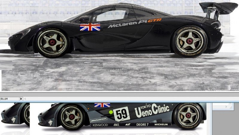 2015 McLaren P1 GTR Confirmed + Exclusive Rendering 1