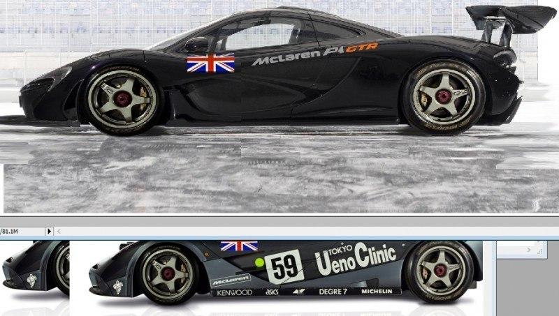2015 McLaren P1 GTR Confirmed + Exclusive Rendering 1