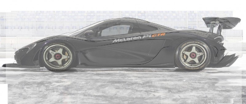 2015 McLaren P1 GTR Confirmed + Exclusive Rendering 5