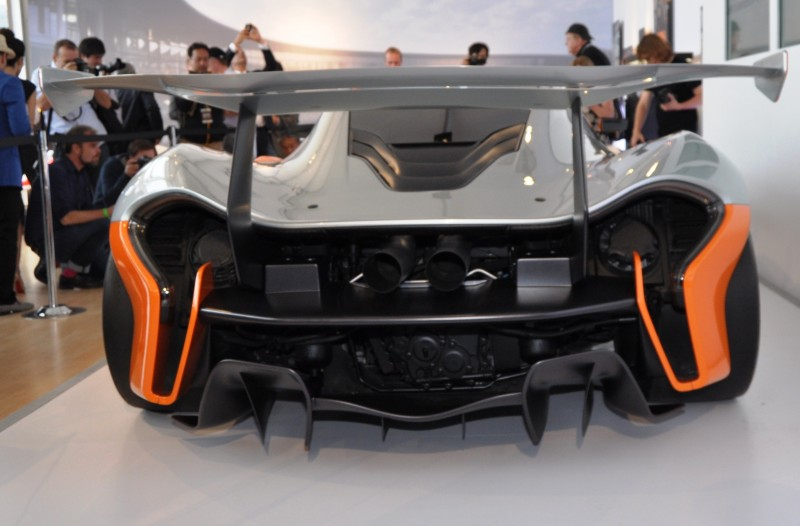 2015 McLaren P1 GTR - Pebble Beach World Debut in 55 High-Res Photos 10