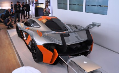 2015 McLaren P1 GTR - Pebble Beach World Debut in 55 High-Res Photos 11