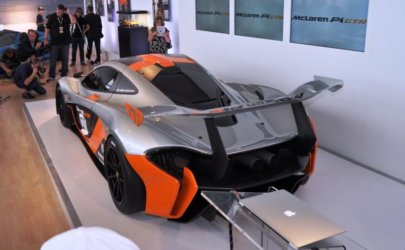 2015 McLaren P1 GTR - Pebble Beach World Debut in 55 High-Res Photos 11