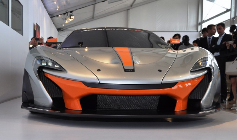 2015 McLaren P1 GTR - Pebble Beach World Debut in 55 High-Res Photos 14