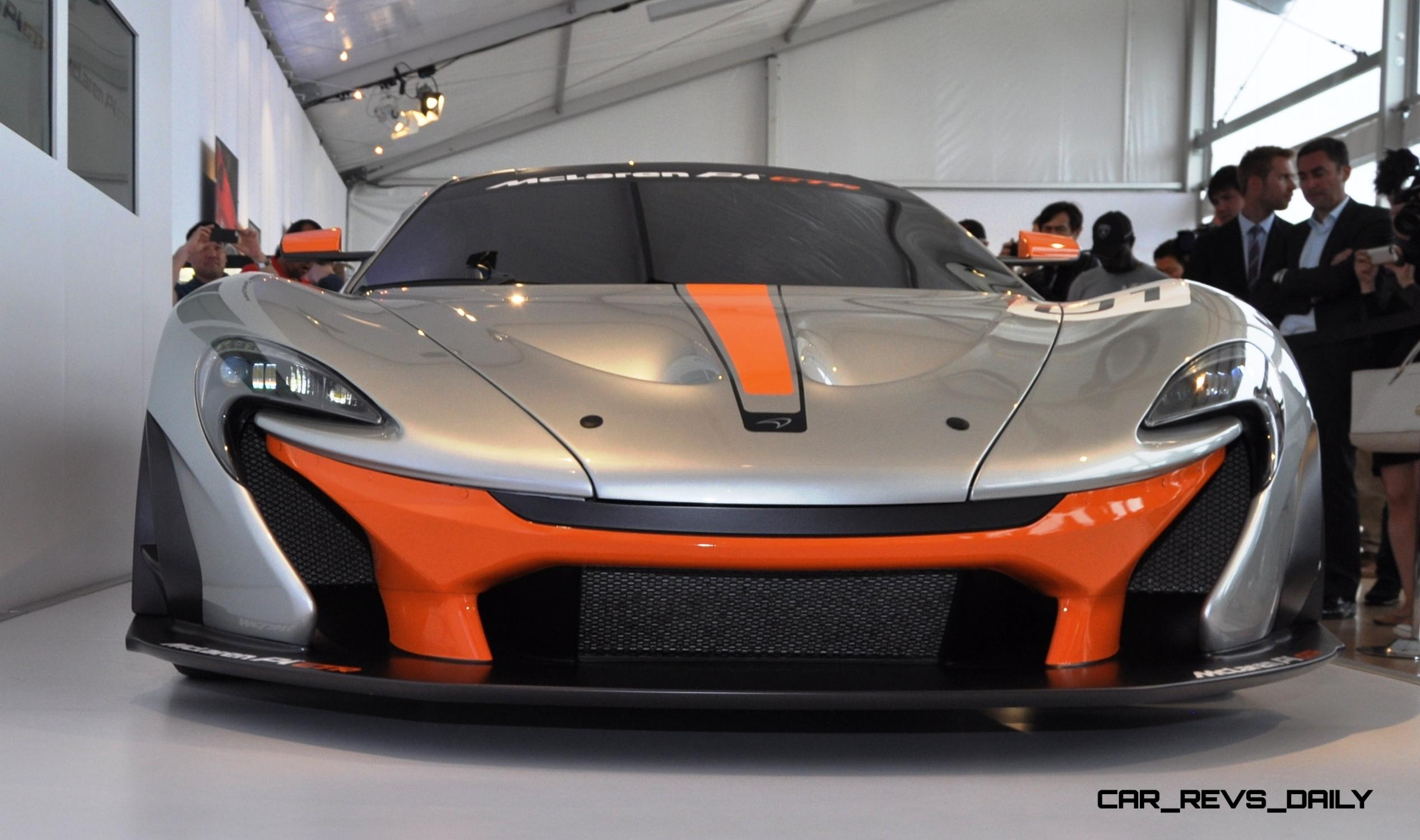 2015 McLaren P1 GTR - Pebble Beach World Debut in 55 High-Res Photos 14