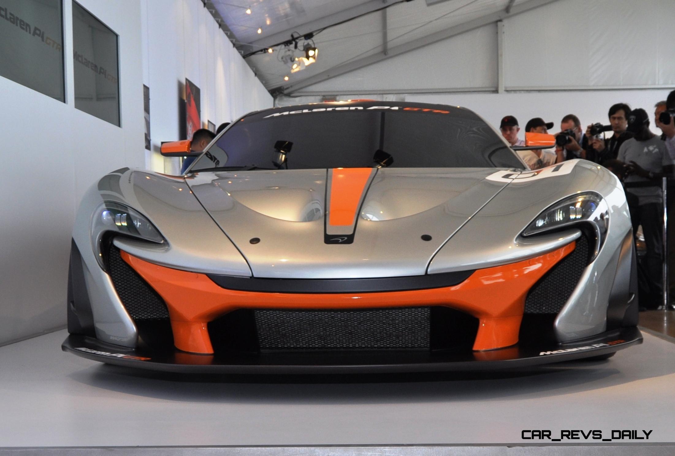 2015 McLaren P1 GTR - Pebble Beach World Debut in 55 High-Res Photos 15