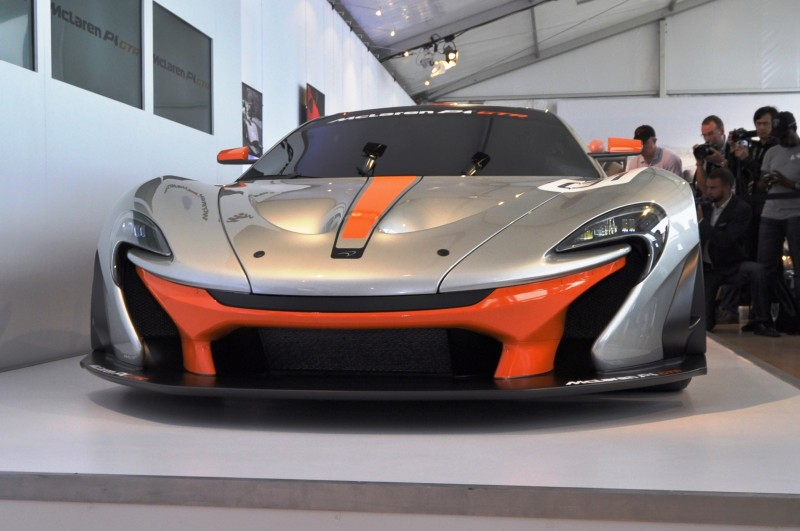 2015 McLaren P1 GTR - Pebble Beach World Debut in 55 High-Res Photos 16