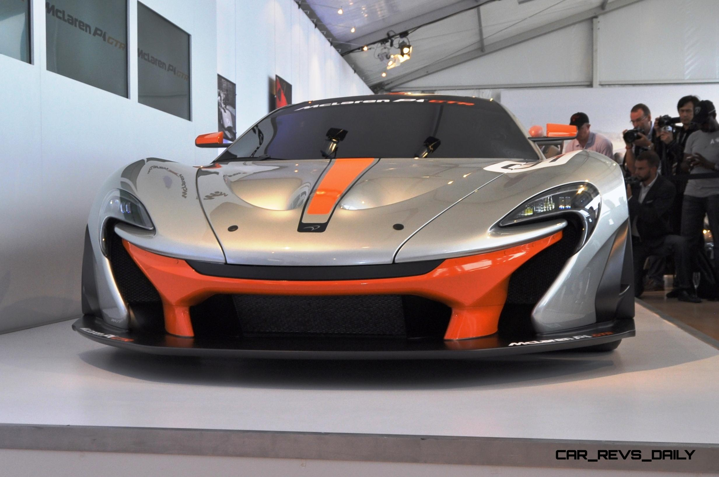 2015 McLaren P1 GTR - Pebble Beach World Debut in 55 High-Res Photos 16