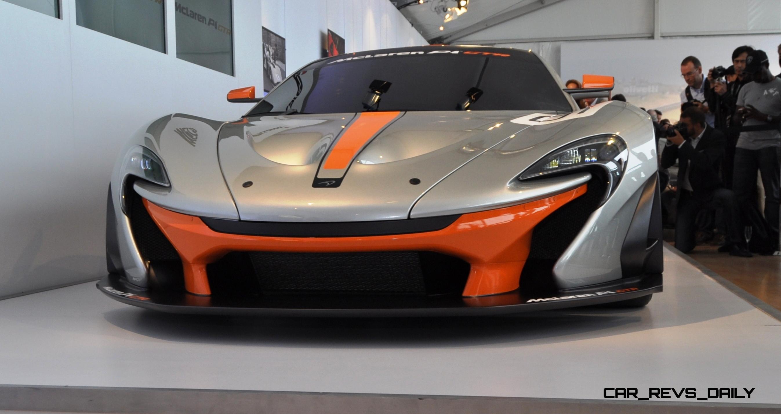 2015 McLaren P1 GTR - Pebble Beach World Debut in 55 High-Res Photos 17