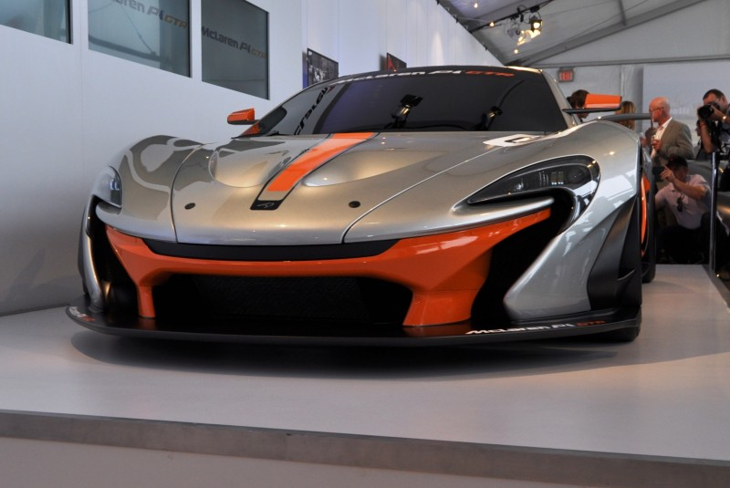 2015 McLaren P1 GTR - Pebble Beach World Debut in 55 High-Res Photos 19