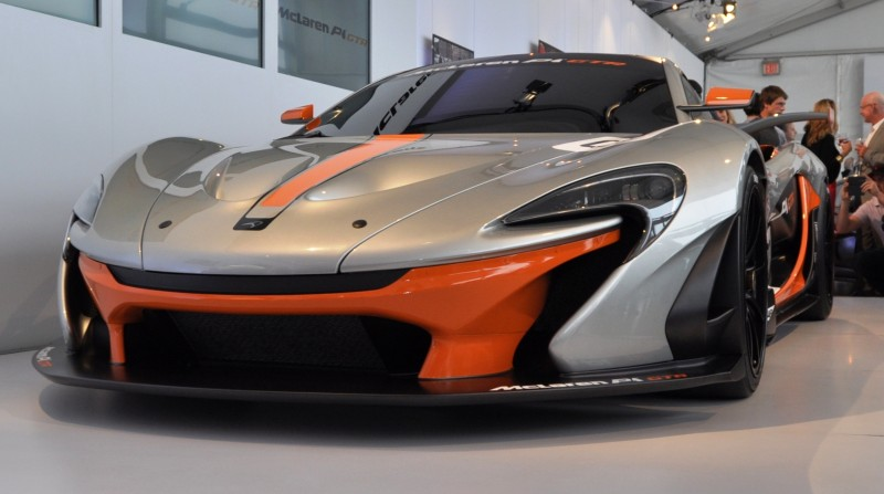 2015 McLaren P1 GTR - Pebble Beach World Debut in 55 High-Res Photos 20