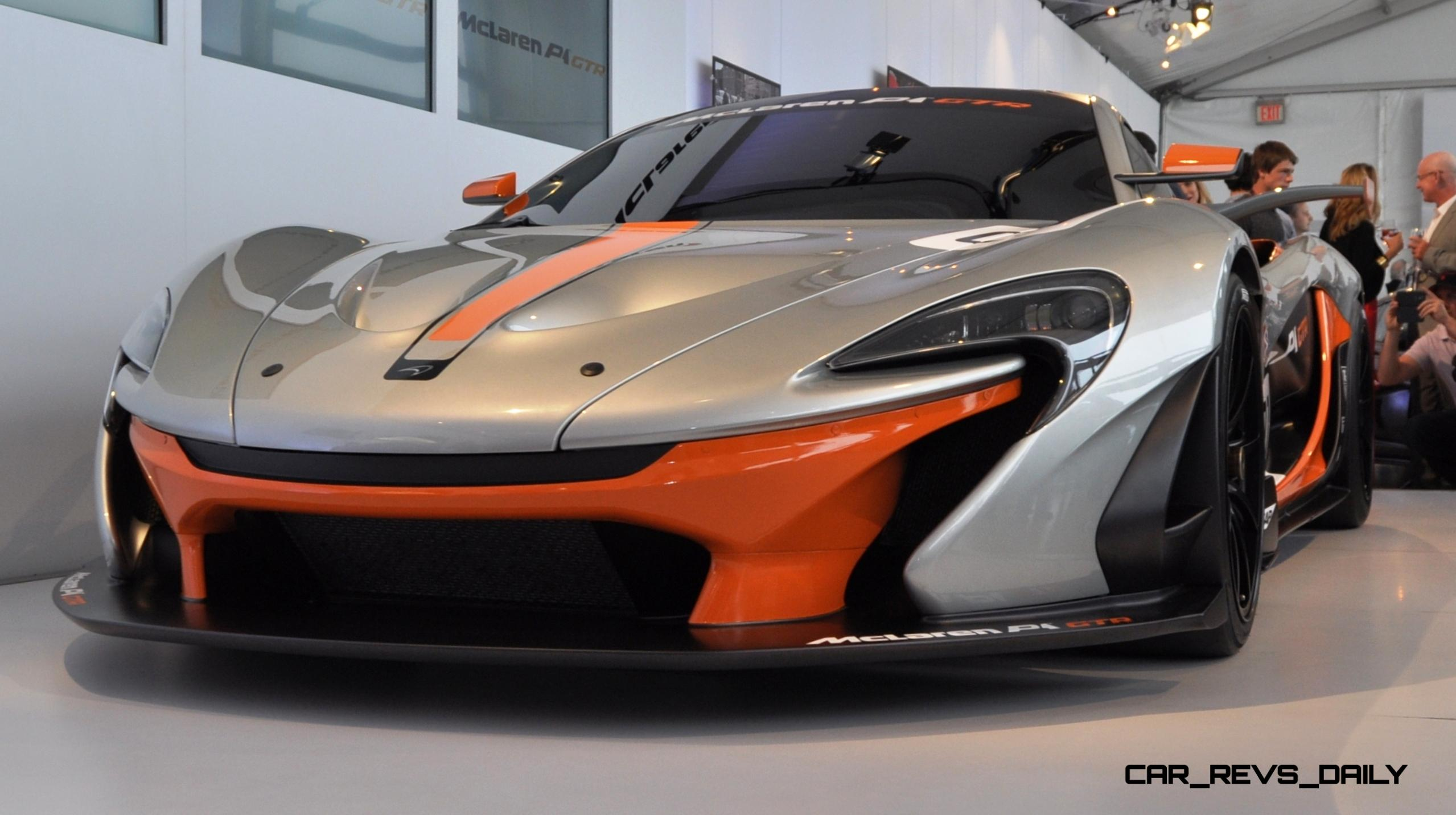 2015 McLaren P1 GTR - Pebble Beach World Debut in 55 High-Res Photos 20