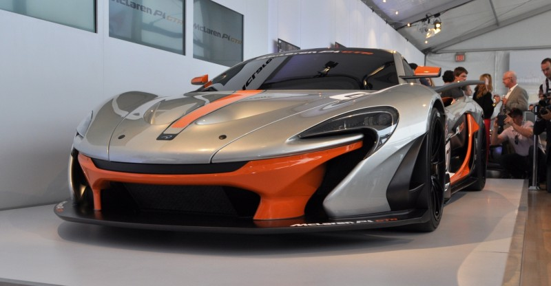 2015 McLaren P1 GTR - Pebble Beach World Debut in 55 High-Res Photos 21