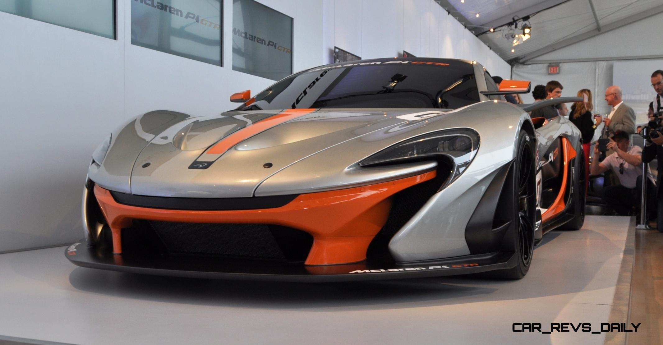 2015 McLaren P1 GTR - Pebble Beach World Debut in 55 High-Res Photos 21