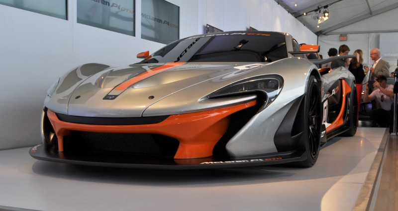 2015 McLaren P1 GTR - Pebble Beach World Debut in 55 High-Res Photos 22