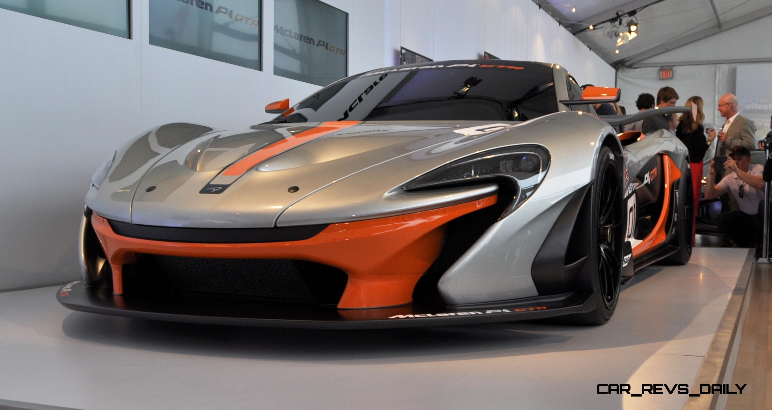 2015 McLaren P1 GTR - Pebble Beach World Debut in 55 High-Res Photos 22