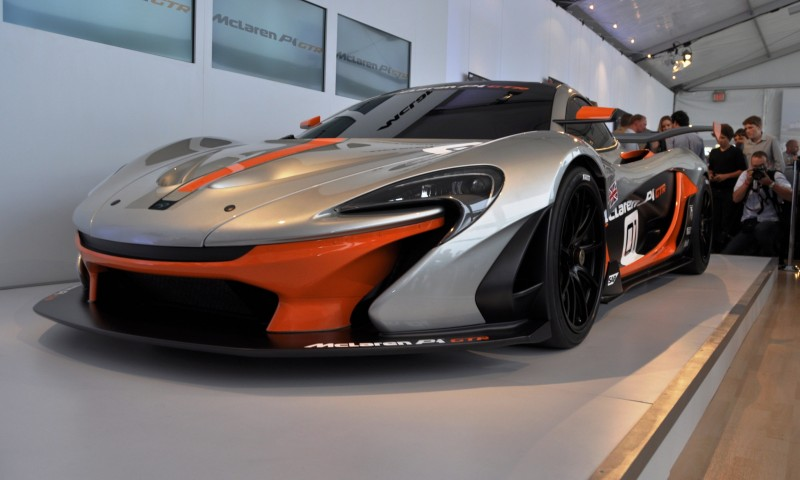 2015 McLaren P1 GTR - Pebble Beach World Debut in 55 High-Res Photos 23
