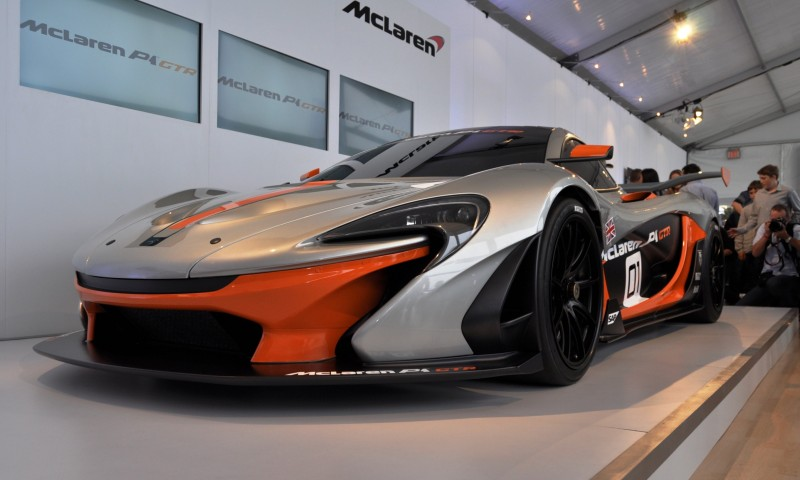 2015 McLaren P1 GTR - Pebble Beach World Debut in 55 High-Res Photos 24