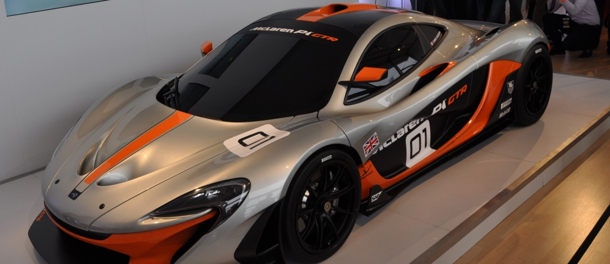 2015 McLaren P1 GTR - Pebble Beach World Debut in 55 High-Res Photos 25
