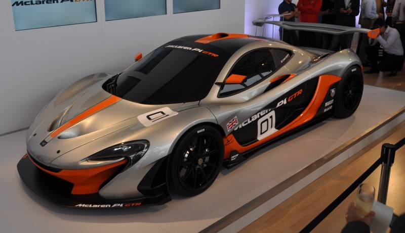 2015 McLaren P1 GTR - Pebble Beach World Debut in 55 High-Res Photos 26