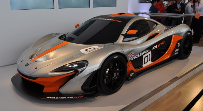 2015 McLaren P1 GTR - Pebble Beach World Debut in 55 High-Res Photos 27