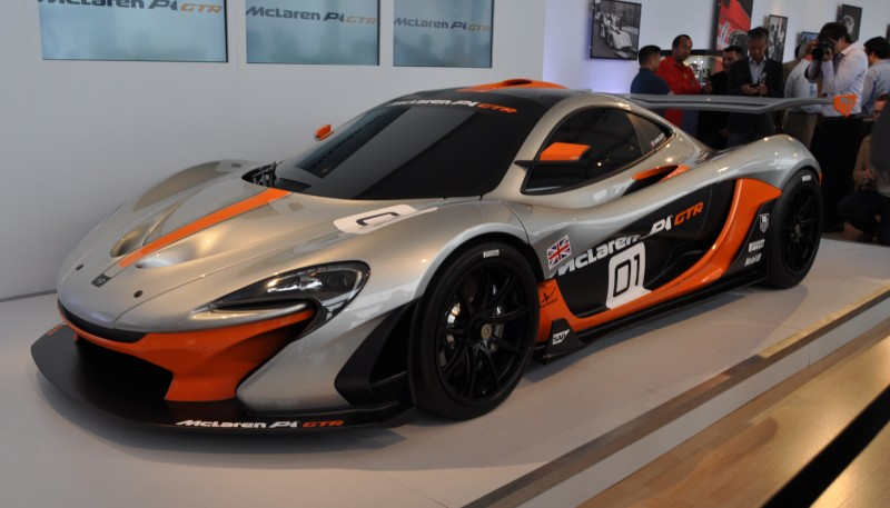 2015 McLaren P1 GTR - Pebble Beach World Debut in 55 High-Res Photos 29